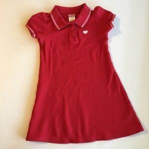 Gymboree Red Polo Dress Size 4